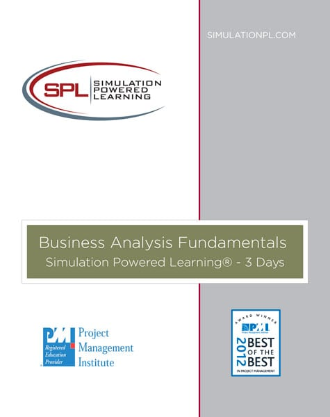 Business Analysis Fundamentals Spl Training Business Analysis Training